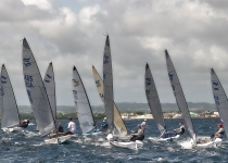 More than a hundred entries for the Finn World Masters at CN El Balís